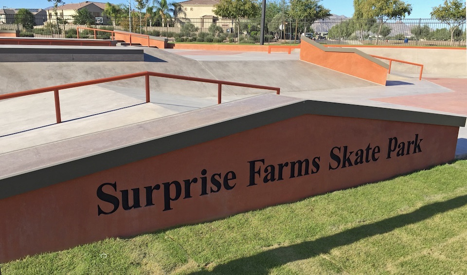 Surprise Farms skate park